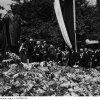 Przy pomniku Woodrow Wilsona - Poznań, 1931.07.04